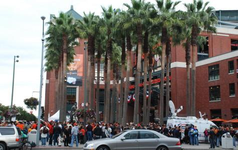 People pack AT&T Park to see the Giants make history.