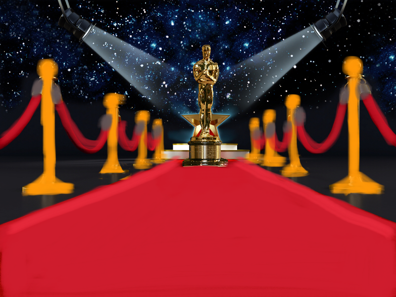 The Oscars air on February 28th at 5:30 PST.