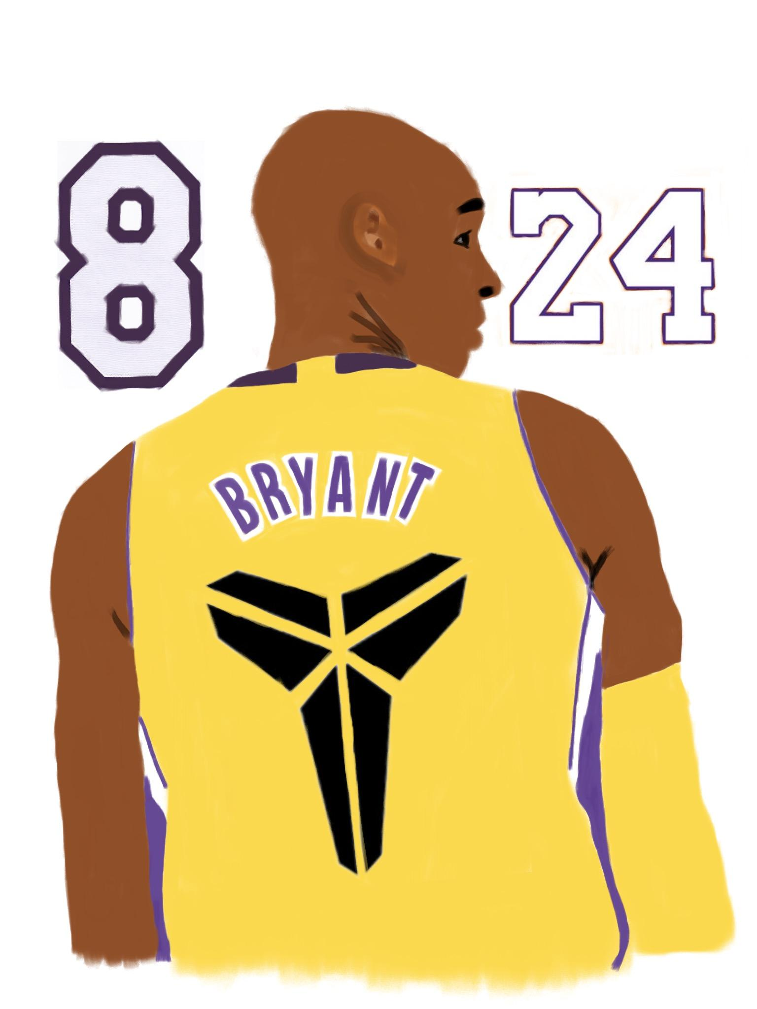 Regardless of the number on his back, Kobe was a legend his whole career.