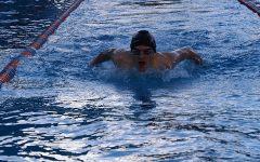 Swim team on the rise