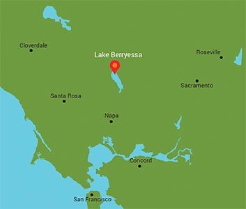 The Outdoors Club's first trip is to Lake Berryessa, the largest lake in Napa County. President Owen Murray has been planning the trip for two months.
