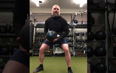 Coach makes workout videos during athletics suspension