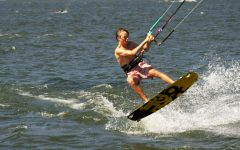 Catching waves — and air
