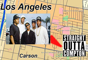 <B><I>Straight Outta Compton</I> dominates the box office as it climbs the charts! </B>