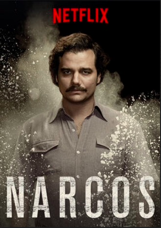 <b>Narcos premiered on August 28, but has risen in popularity over the past month.</b<