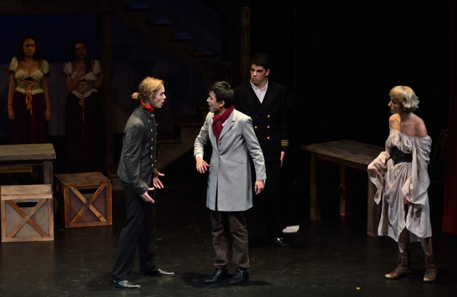 Les Miserables  shocked all who attended the show, over the past weekend, as both the singing and acting earned the cast and crew the title of one of the best in the school's history.
