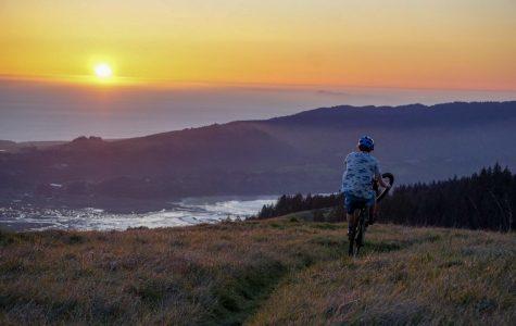 Mogan prepares for Enduro mountain biking competition