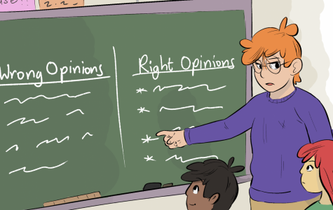 Teachers should show political neutrality