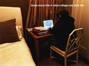 As the school year comes to an end virtually, seniors say they wonder if they will be able to attend college physically. Some universities have already made plans to continue large classes online, while others are formulating possible responses to a second wave of COVID-19.